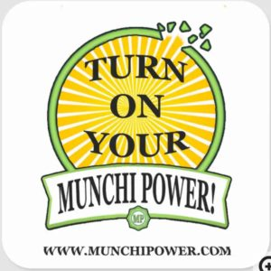 sticker munchi power sunrays